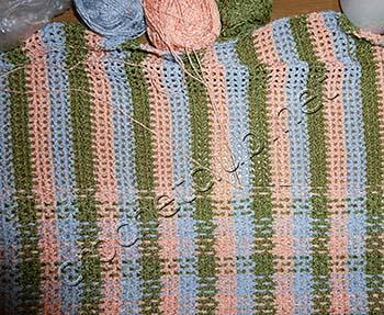 вязаный пуловер тканое полотно 2