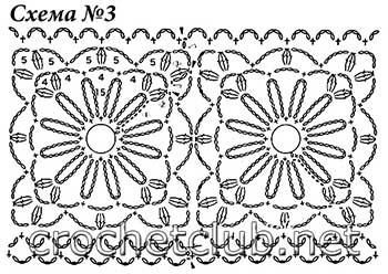 теплый вязаный кардиган-схема 3