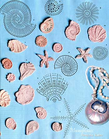 туника морская жизнь-схемы 1