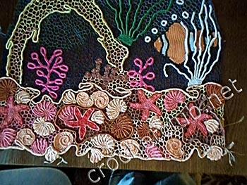 туника морская жизнь-вязание 4