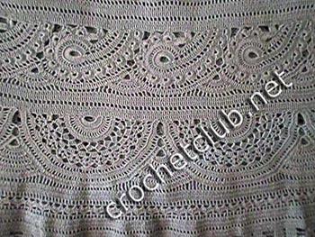 платье связанное из хлопка 3