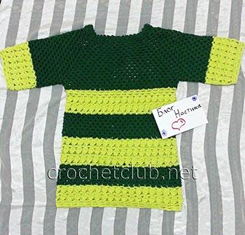 удлиненный пуловер с рукавом 34 1