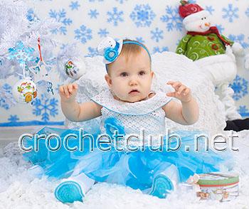 новогодний наряд для девочки