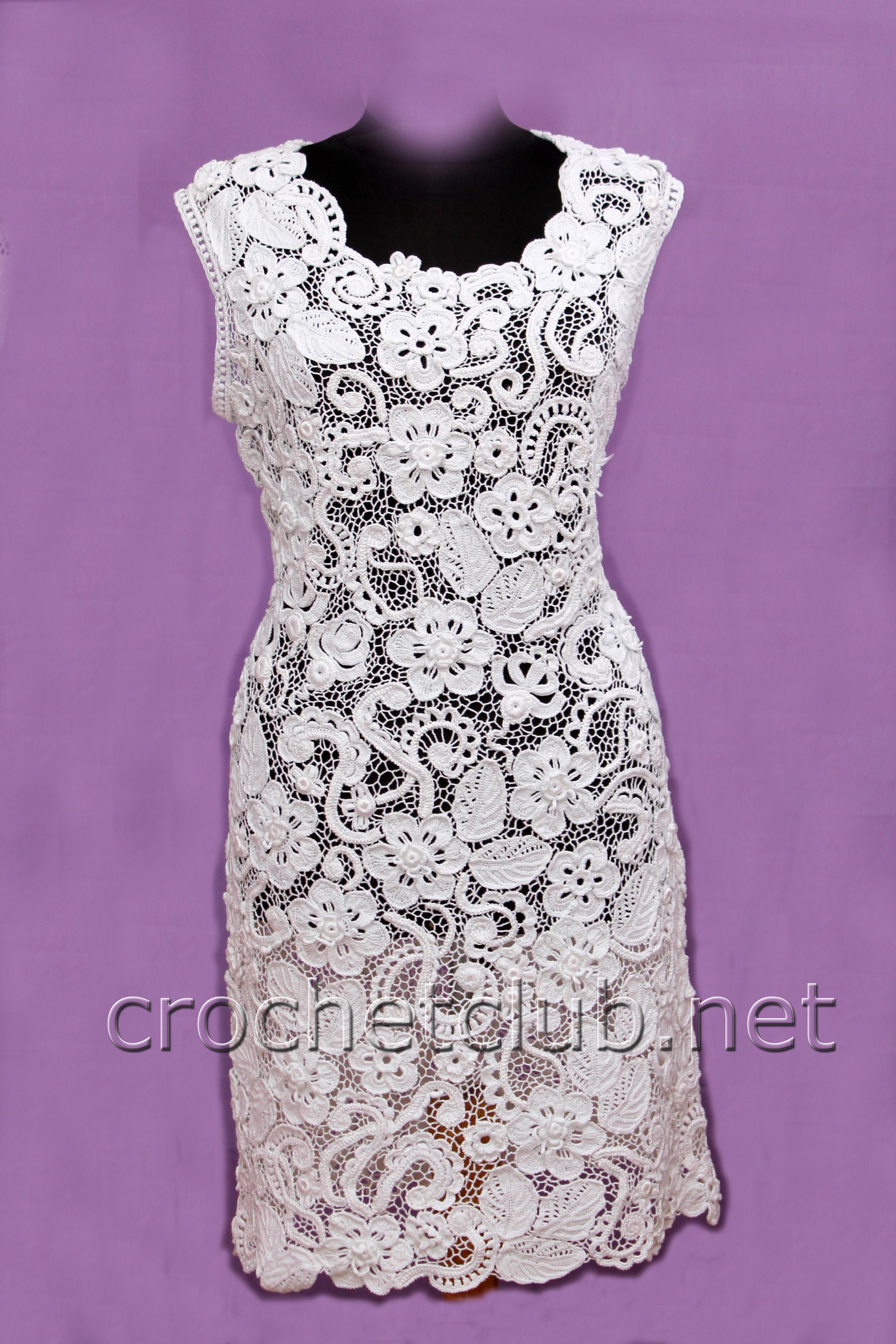 платье крючком продаю