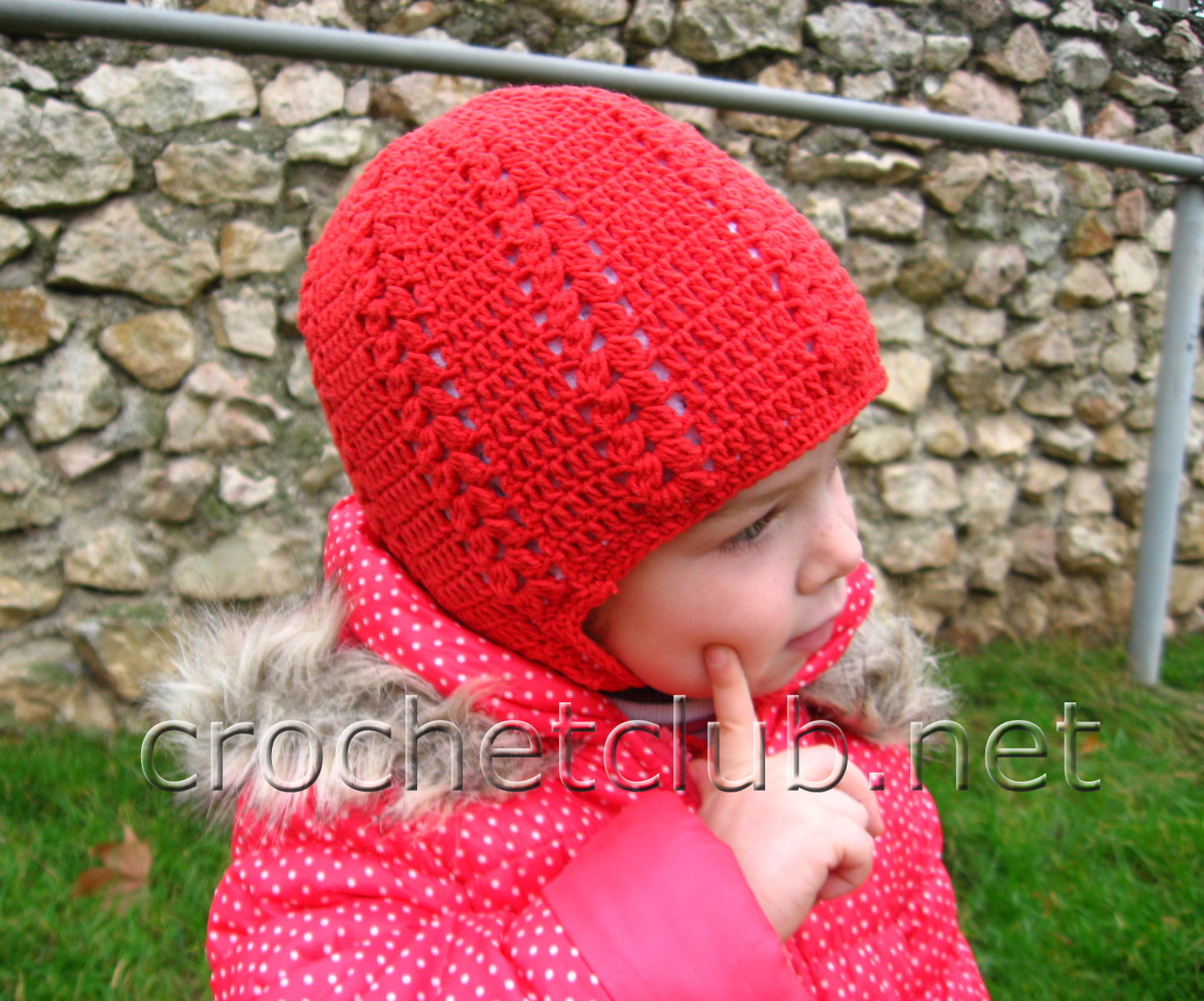 Вязание шапочка из ниток крючком