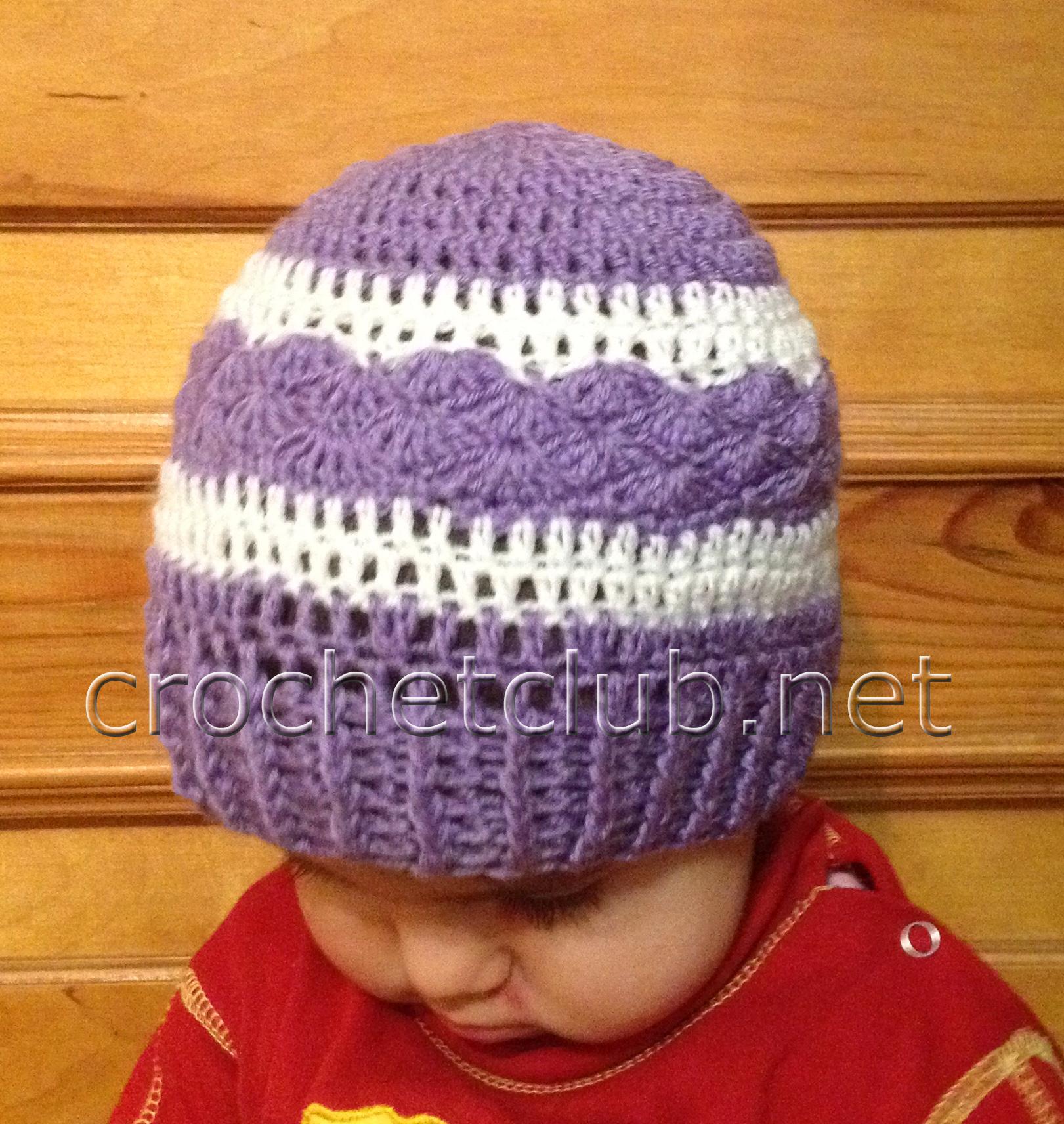 шапочки для девочек на весну схема для начинающих