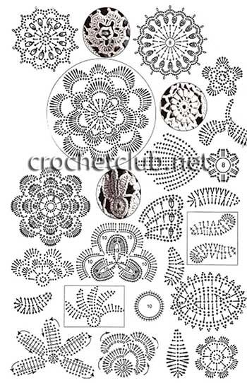 фиалковое платье-ирландское кружево-схемы 2