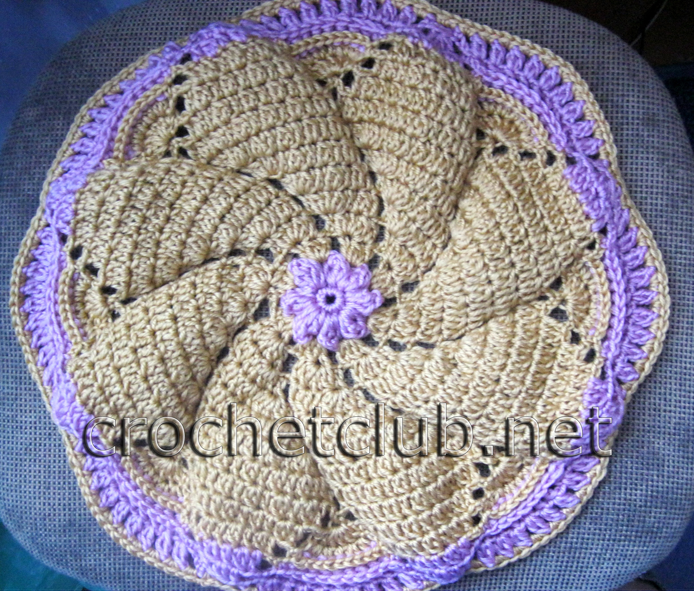 вязание крючком шарфы женские ажурные для начинающих