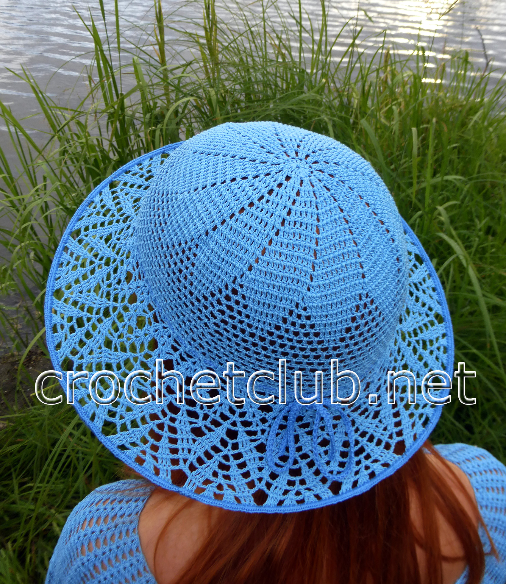 Шляпа для девочки крючком схема фото 293