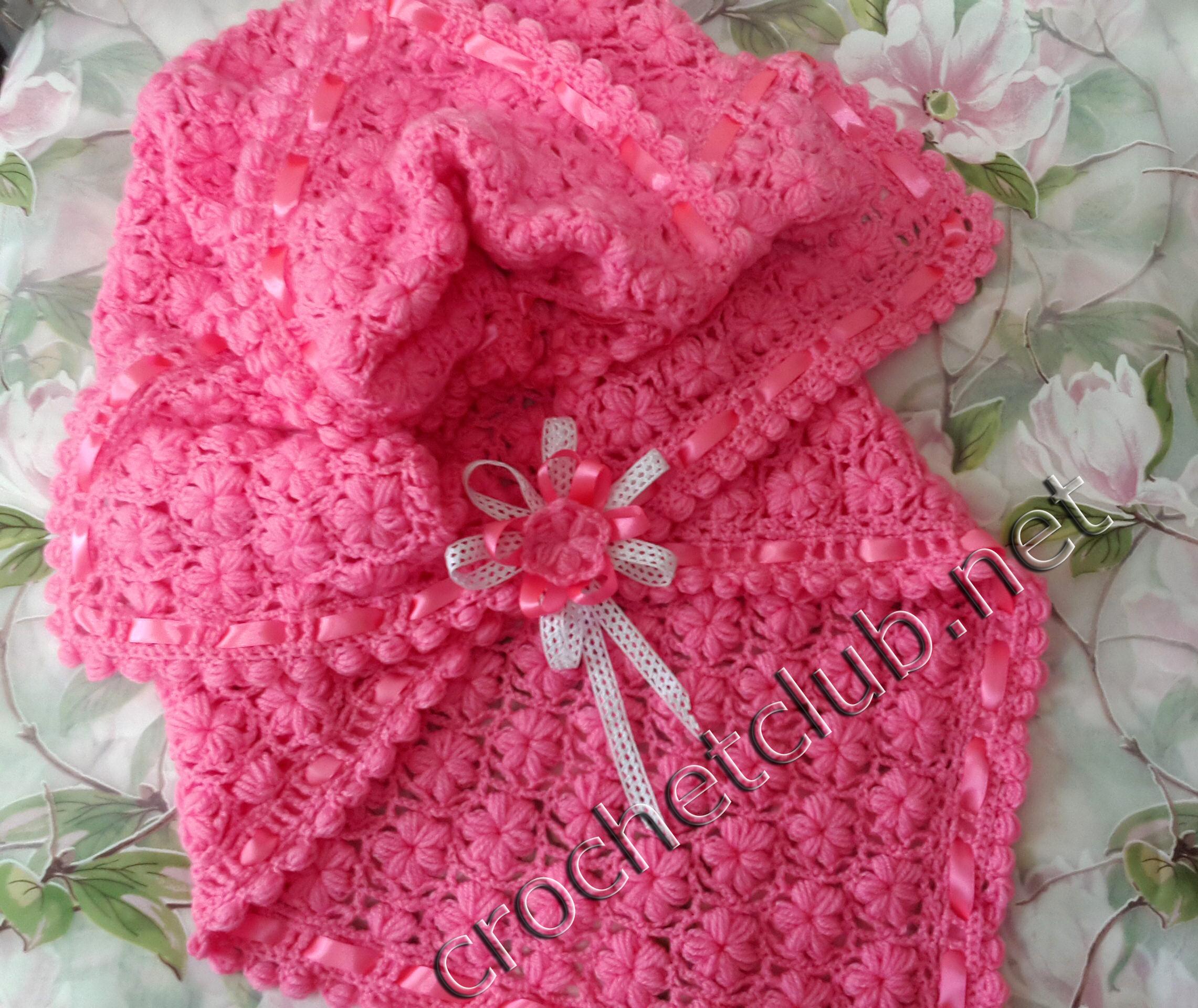 пледики одеяльца и схемы вязание