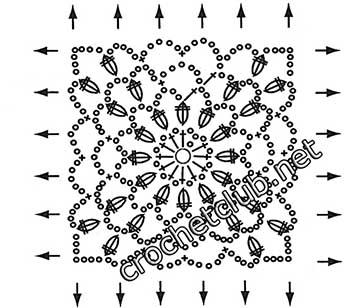 туника филейная мозаика-квадрат2