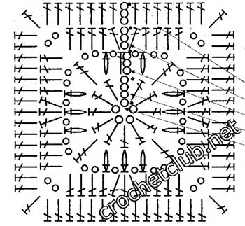 туника филейная мозаика-квадрат5
