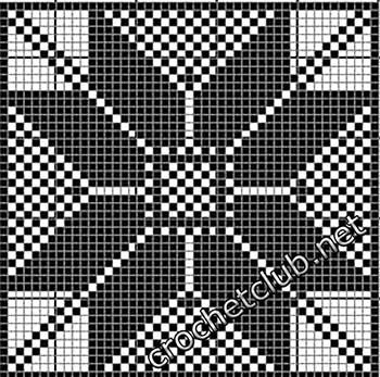 туника филейная мозаика-квадрат6
