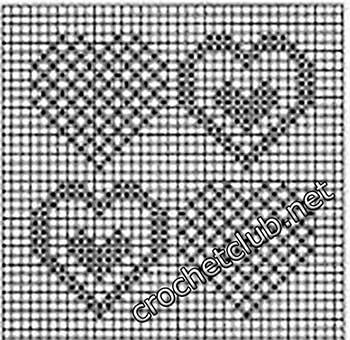 туника филейная мозаика-квадрат7