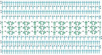 туника филейная мозаика-схема 1