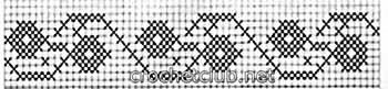туника филейная мозаика-схема 3
