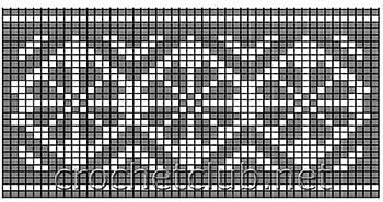 туника филейная мозаика-схема 4