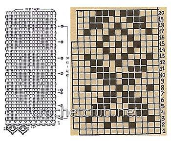 туника филейная мозаика-схема 5