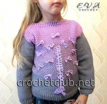 свитер с эффектом деграде fairy 1