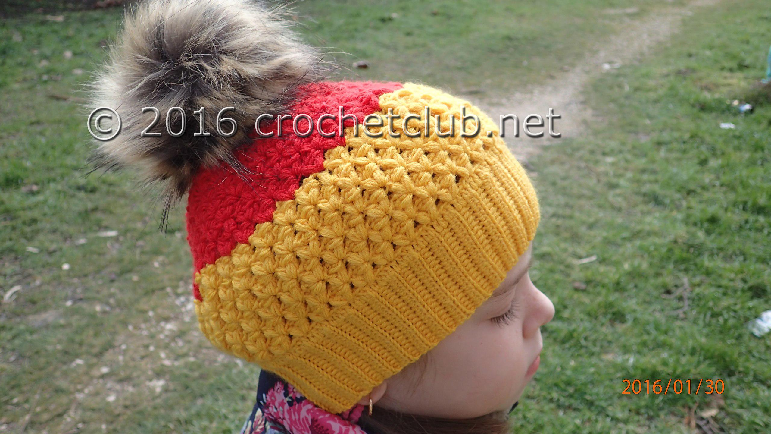 двухцветная шапка крючком вязание крючком блог настика