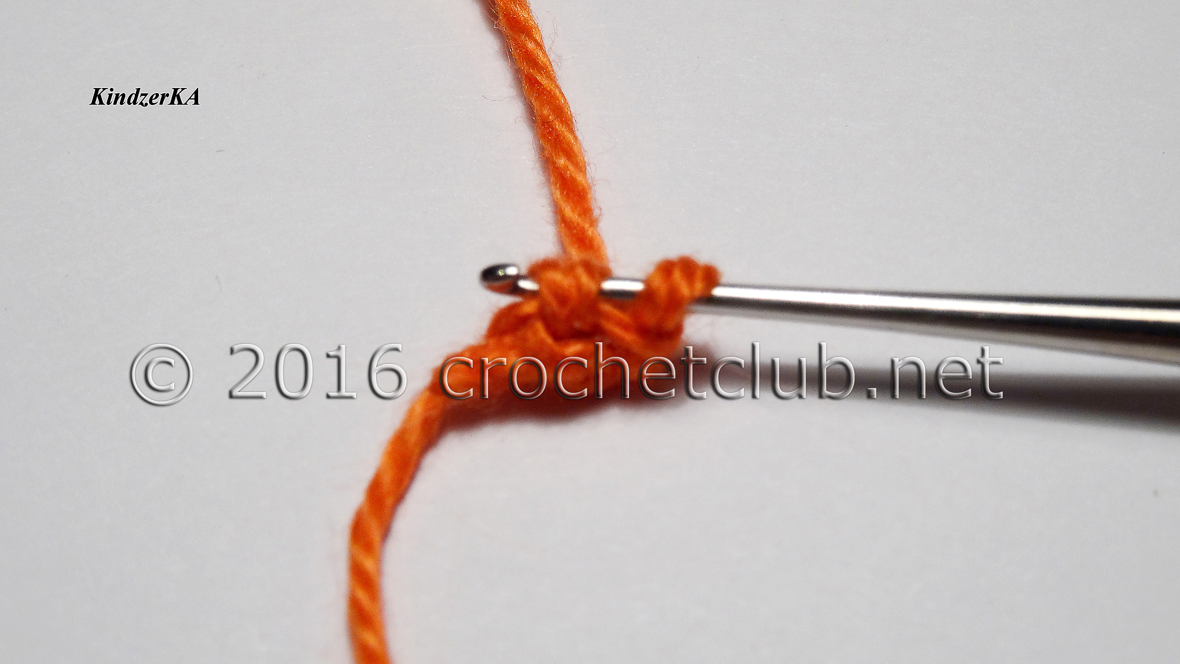Вязание шнура гусеничка крючком 96