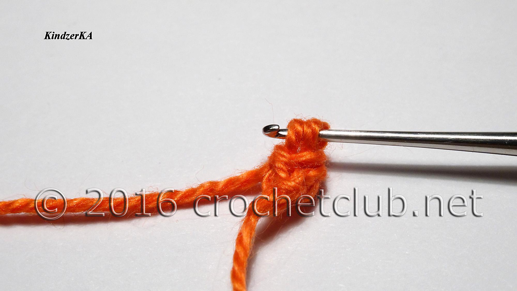 Вязание шнура гусеничка крючком 95