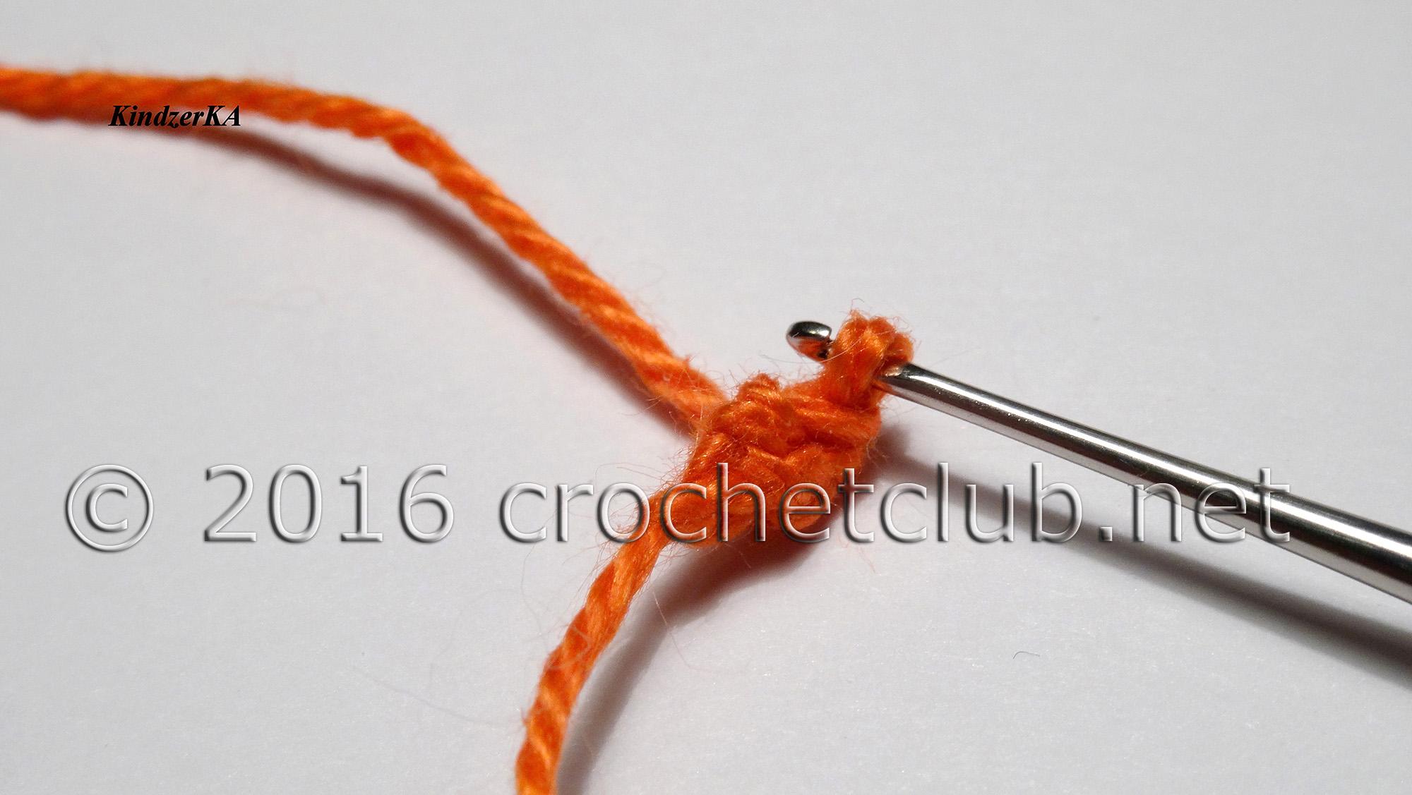 Вязание шнура гусеничка крючком 79