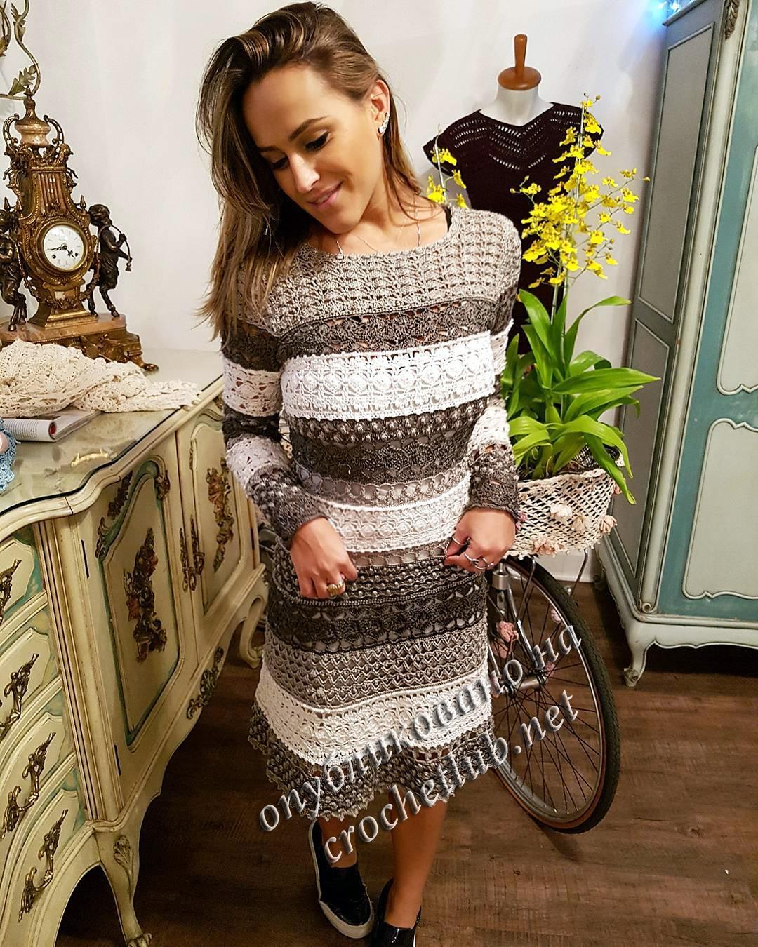 6fc3a056515 Новое платье Ванессы Монторо. Рубрика  Вязание для женщин