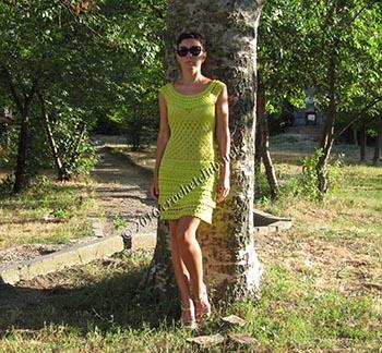 салатовое платье по мотивам ванессы монторо 2