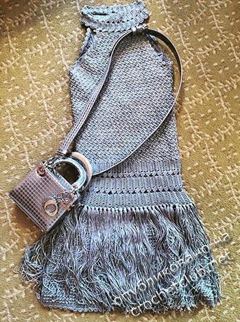 платья крючком от ванессы монторо