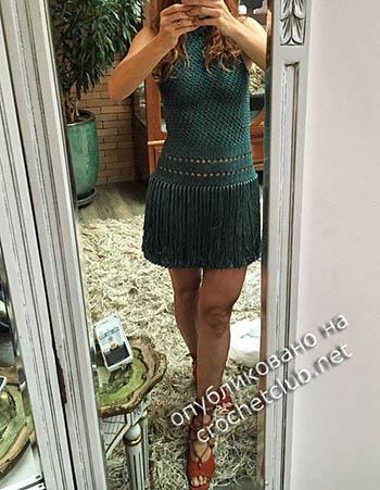 платья крючком от ванессы монторо 1