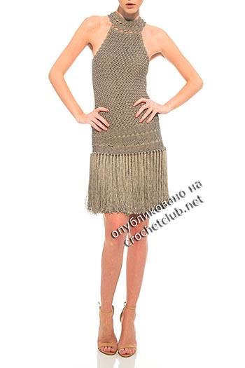 платья крючком от ванессы монторо 5