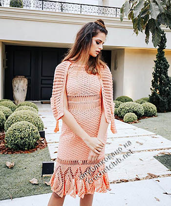 платье peach katia portes