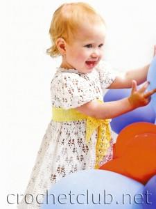 Платьице для малышки 2-х лет