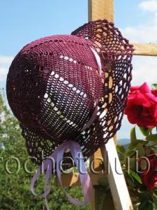 Летняя шляпка, связанная крючком