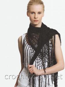 Стильный платок на шею