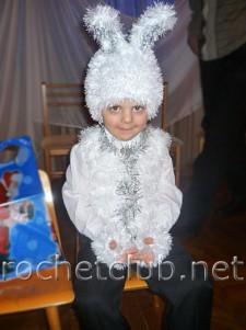 """Новогодний костюм """"Зайка"""""""