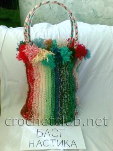 Веселая летняя сумочка