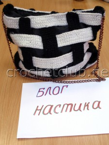 "Сумка ""Черно-белая фантазия"""