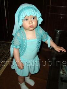 Костюмчик для малышки на 1 год и 3 месяца