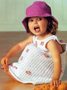 Сарафанчик для маленькой девочки