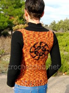 Пуловер с жаккардовым рисунком