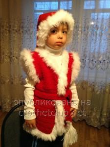 """Вязаный костюм """"Новый год"""""""