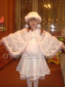 """Вязаный костюм """"Метелица"""""""