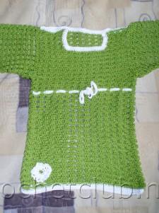 Платье-туника для годовалой девочки