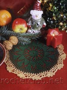 Салфетки для новогоднего стола