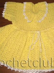 Платье для полугодовалой девочки