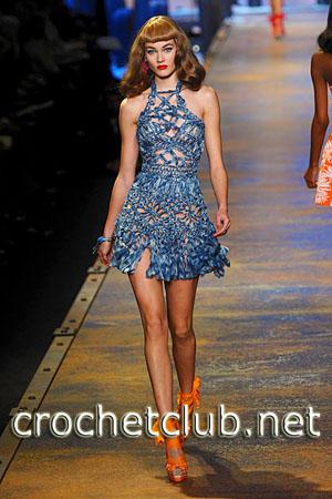 Вязаный подиум. замысловатые плетения и нежный ажур. вязаная мода. http...