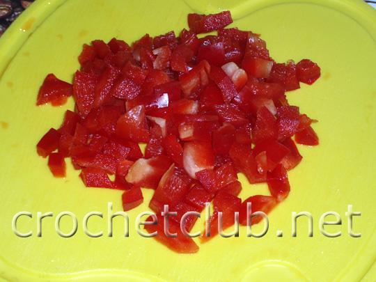 салат с мидиями и красным перцем 4