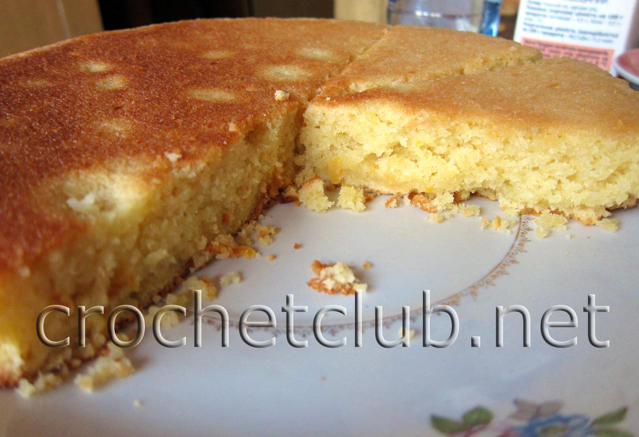 Лимонный пирог в мультиварке рецепт пошагово